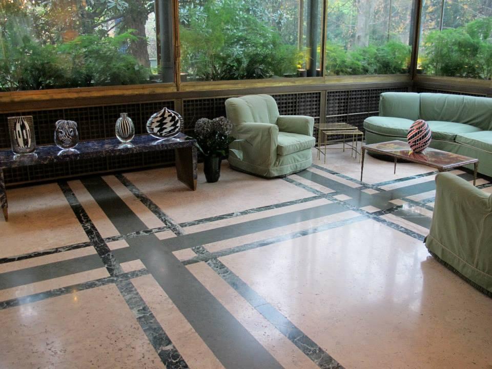 Villa necchi campiglio milano via mozart with for Villa mozart milano
